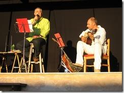 2º.- Miguel Prades, Manel Brancalk y Michel Llorens