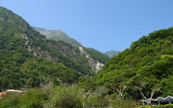 天祥晶華附近的景色