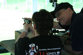 NRAWomen On Target Instructional Shooting Clinic in Ireland