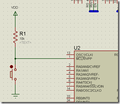 MCLR reset circuit