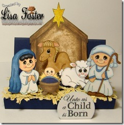 Nativity Play Set-Lisa F
