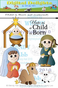 [Child is born set color[4].jpg]