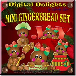 Gingerbread Badge