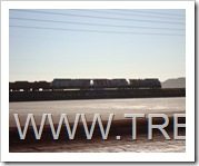 Locomotras General Electric de la Pilbara railroad