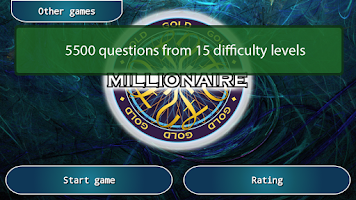 Screenshot of Millionaire GOLD