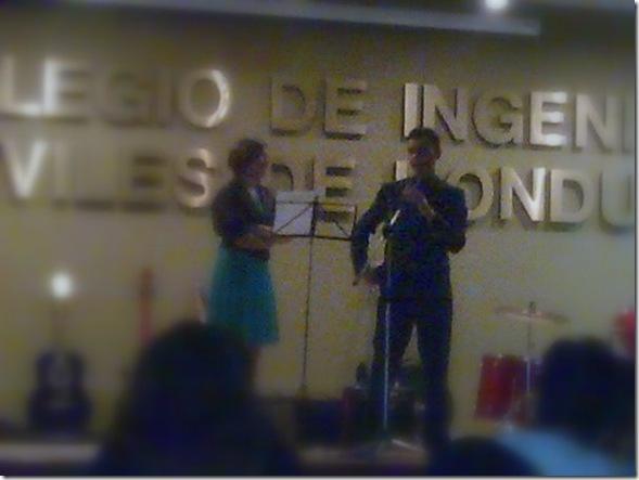 Ariel Castellanos en una Conferencia