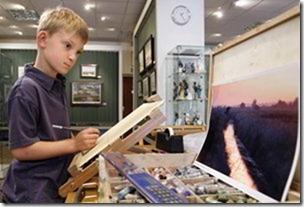 niño ingles artista