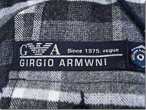 falsificacion giorgio armani