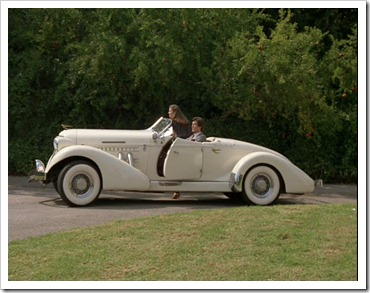 1936 Auburn from Remington Steele