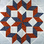 Star with Diamonds (Star Quilt)