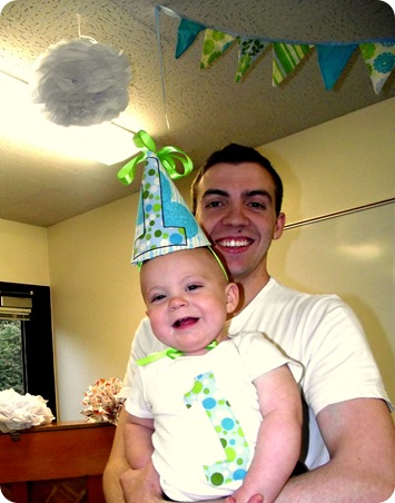 Eli's first birthday 2
