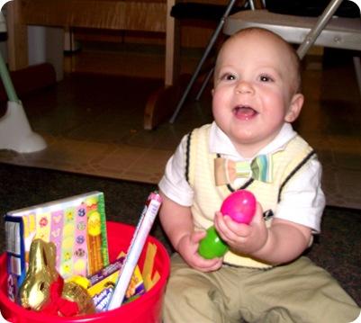 Elijah's Easter basket