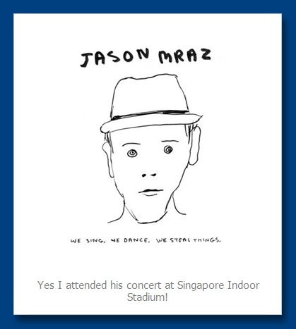 review jason mraz concert 5th march singapore
