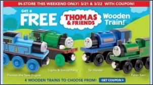 Thomas Train Freebie