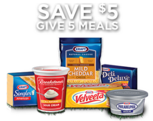 Kraft Foods 5 off 5 products Coupon