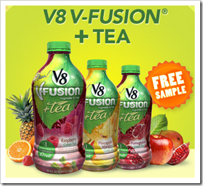 V8 V-Fusion   Tea Free Sample