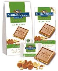 Ghirardelli Luxe Milk Chocolate Freebie