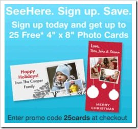 SeeHere 25cards offer