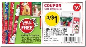 Walgreens Hallmark RR Moneymaker