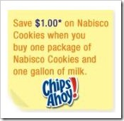 Nabisco Cookies save 1 dollar