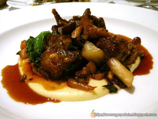 West Restaurant, Dine Out Vancouver 2010, Peace River lamb shank