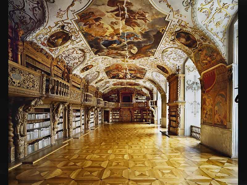 старинные библиотеки