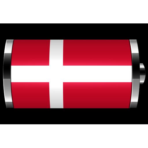 丹麥 - 旗電池部件 LOGO-APP點子