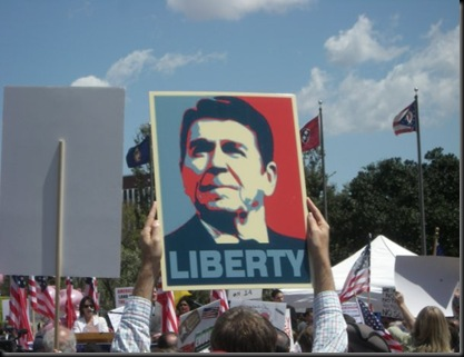 OC Tea Party - Reagan