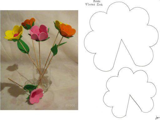 Debate areglos flores de fomi - grupos.
