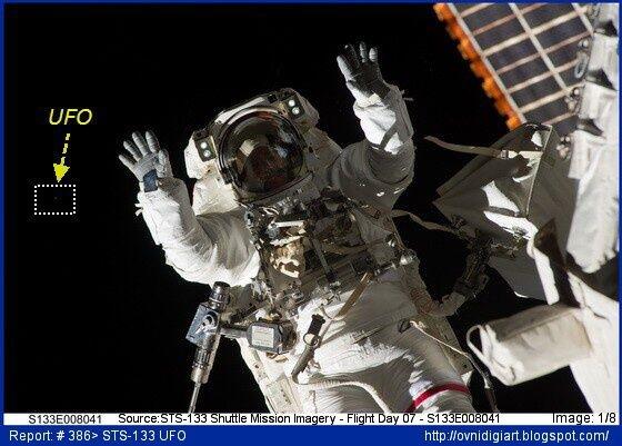 STS-133 UFO_1