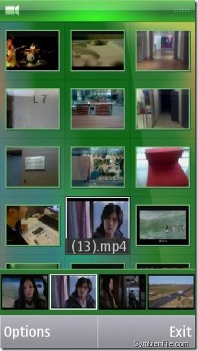 برنامج Nokia Video Cuts