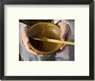 FotoSketcher - empty bowl