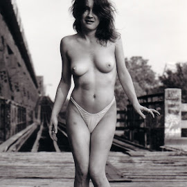 Frisco Bridge by Paul Hopkins - Nudes & Boudoir Artistic Nude (  )