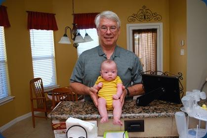 Grandpa and Hudster