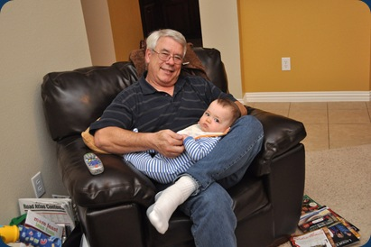 Grandpa and Huddie