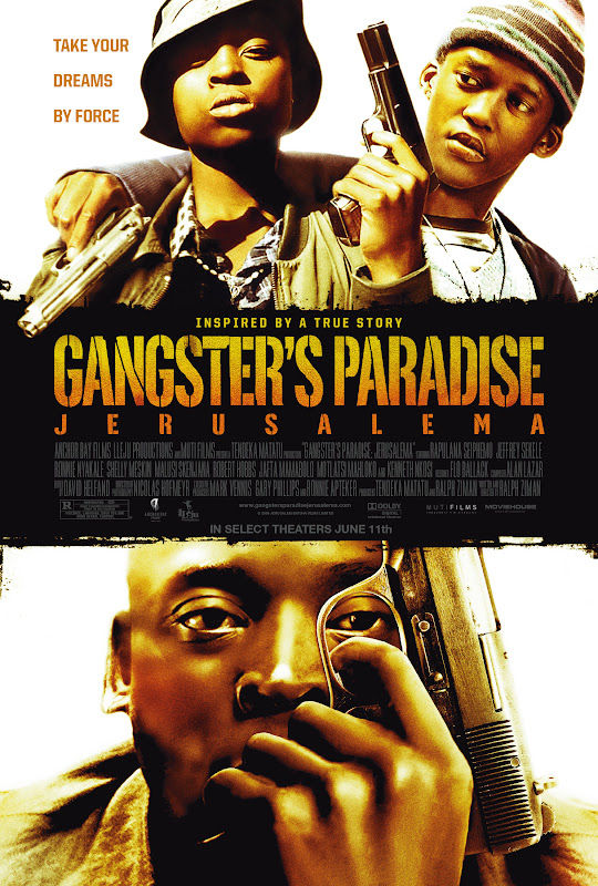Gangster'S Paradise, Jerusalema, poster, dvd, cover