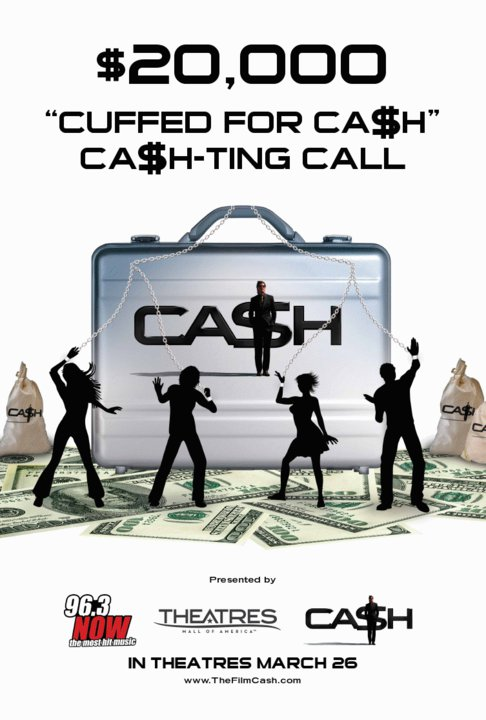 Cash, 2010, New, Movie, Posters