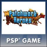 Patchwork Heroes, game, psp, sony,box, art, cover, screens, new
