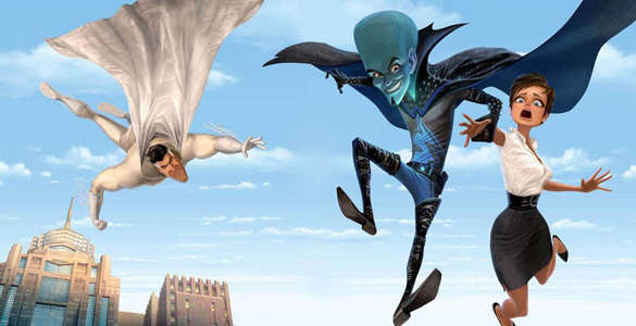 Megamind, animated, movie, poster, new, cover, dvd, image