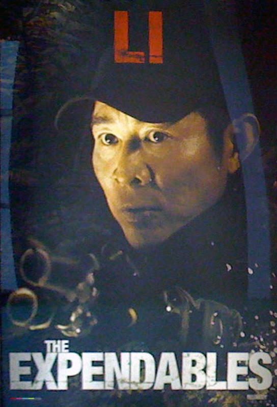 The Expendables, 2010, New, Movie, Posters, Jet li
