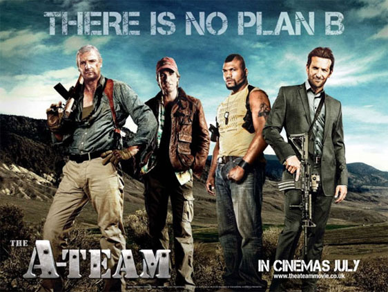 The A Team, movie, poster, new, dvd, cover