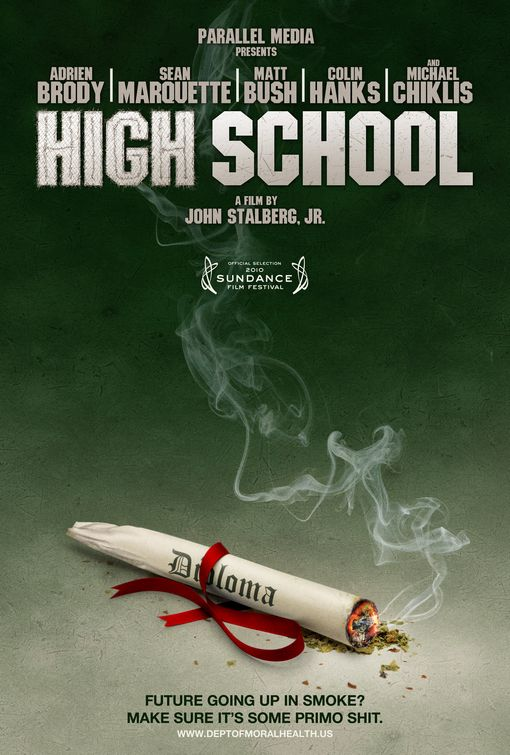 High School, movie, poster, dvd, cover