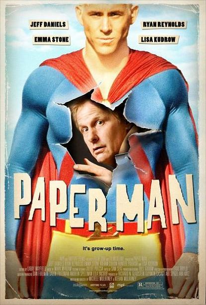 Paper Man, movie, poster
