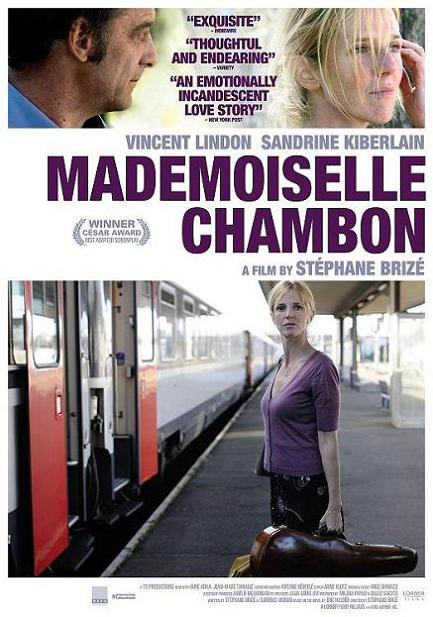 Mademoiselle Chambon, movie, poster