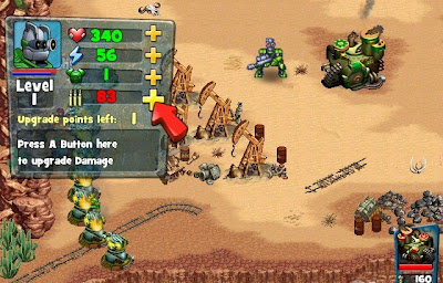 Robocalypse Beaver Defense, wii game, images
