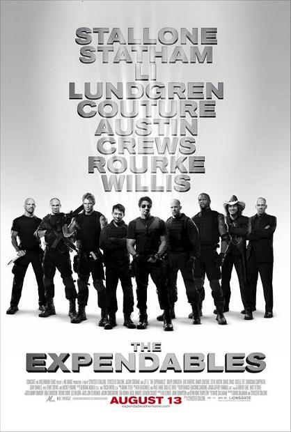 The Expendables, movie, poster