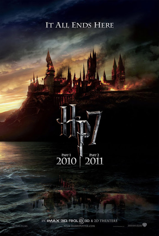 Harry Potter & the Deathly Hallows: Part I, movie, poster, new