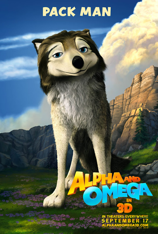 pack man, Alpha and Omega, movie, poster
