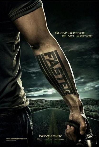 Faster, Dwayne Johnson, movie, poster, new