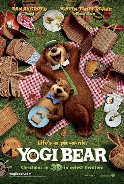 Yogi Bear, movie, poster